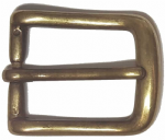 25mm Mellow Brass Curved Belt Buckle. Code WH8
